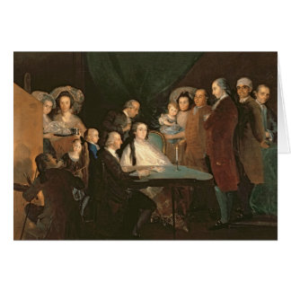 Cartes La famille d'Infante Don Luis de Borbon