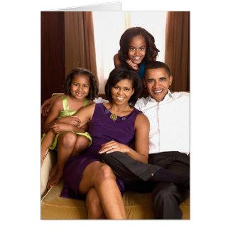 Cartes La famille d'Obama