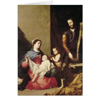 Cartes La famille sainte, 1639