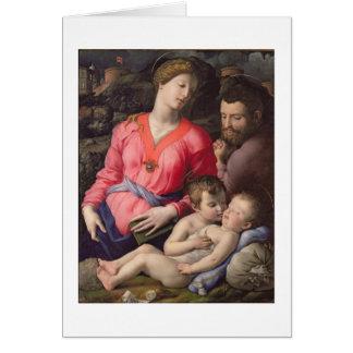 Cartes La famille sainte de Panciatichi, c.1530-32 (huile