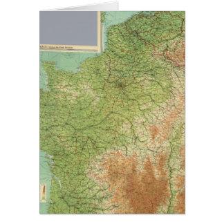 Cartes La France composée, Belgique, Hollande