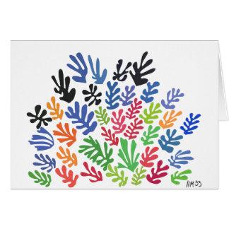 Cartes La Gerbe par Matisse