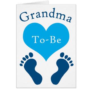 Cartes La grand-maman À-Est