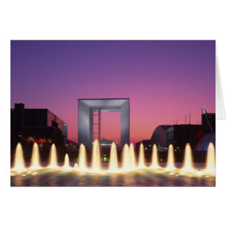 Cartes La Grande Arche, la défense de La, Paris, France