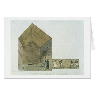 Cartes La grande chambre dans la deuxième pyramide de