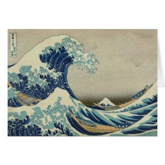 Cartes La grande vague