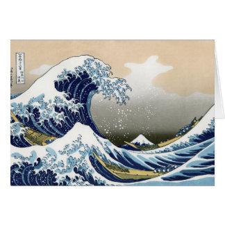 Cartes La grande vague outre de Kanagawa