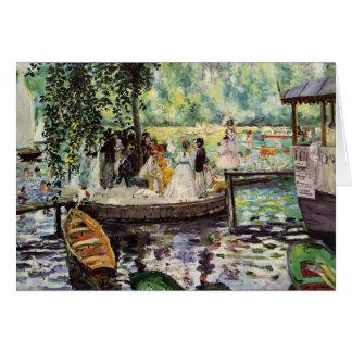 Cartes La Grenouillere de Pierre-Auguste Renoir-