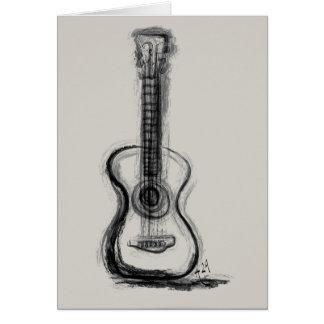 Cartes La guitare d'Annie