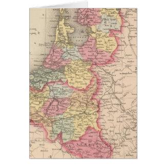 Cartes La Hollande et la Belgique