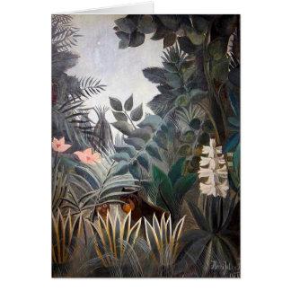 Cartes La jungle équatoriale
