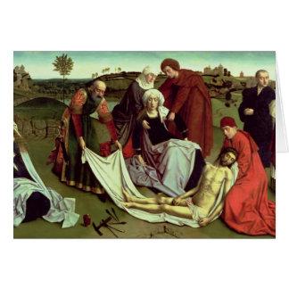 Cartes La lamentation au-dessus du Christ mort