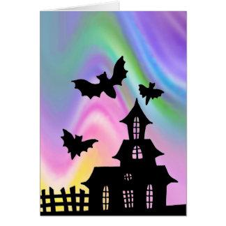 Cartes La leçon Halloween d'art de griffonnage d'EZ a
