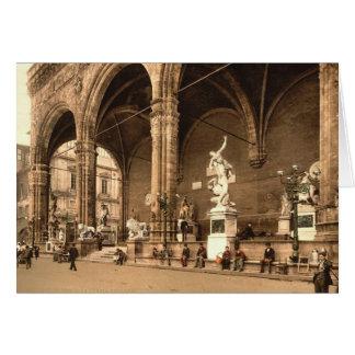 Cartes La loge de Lancers. Florence Italie