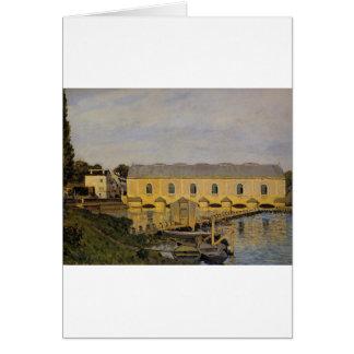 Cartes La machine à marneux par Alfred Sisley