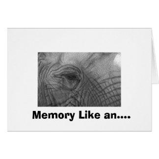 Cartes La mémoire aiment….