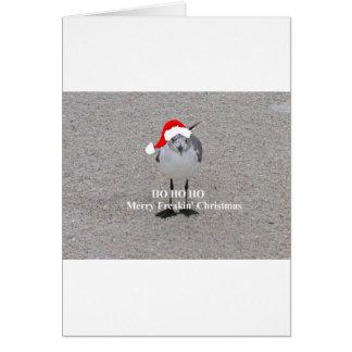 Cartes La mouette de Noël