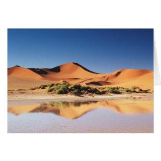 Cartes La Namibie, région de Sossusvlei, dunes de sable