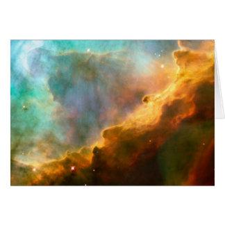 Cartes La NASA - Nébuleuse d'Omega/cygne (M17)