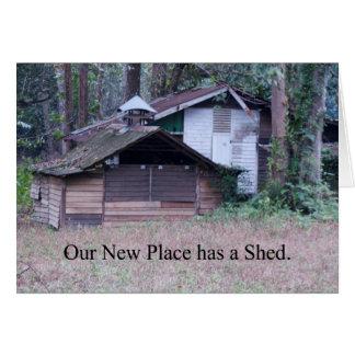 Cartes La nouvelle adresse a jeté le changement d'adresse