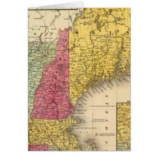 Cartes La Nouvelle Angleterre 3