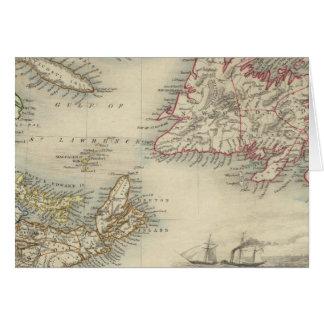 Cartes La Nouvelle-Écosse et Terre-Neuve