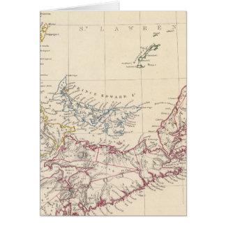 Cartes La Nouvelle-Écosse, NOTA:, Canada inférieur