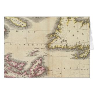 Cartes La Nouvelle-Écosse, Terre-Neuve