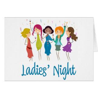Cartes La nuit des dames
