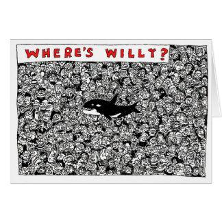 Cartes Là où est la bande dessinée de Willy par Sam
