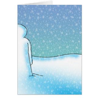 Cartes La patience de neige