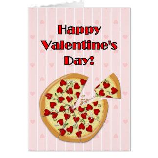 Cartes La pizza de Valentine