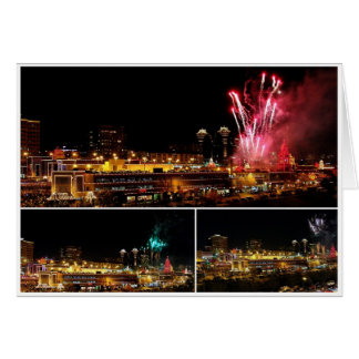 Cartes La plaza de Kansas City allume le collage, feux