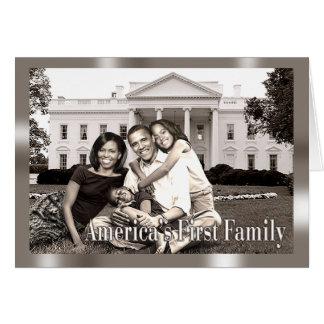Cartes La première famille de l'Amérique