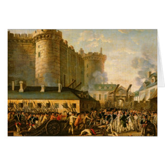 Cartes La prise de la bastille, le 14 juillet 1789
