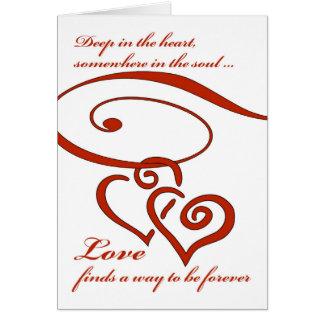 Cartes La proposition de mariage, amour trouve une