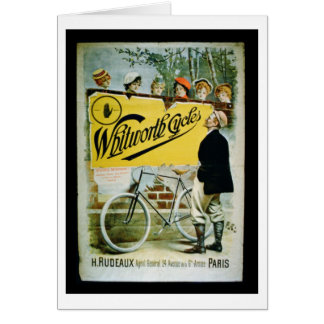 """Cartes La publicité par affichage """"Whitworth fait un"""