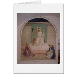 Cartes La raillerie du Christ avec la Vierge et le St