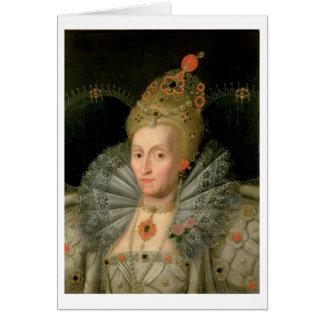 Cartes La Reine Elizabeth I (portrait de longueur de