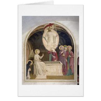 Cartes La résurrection du Christ et des femmes pieuses à