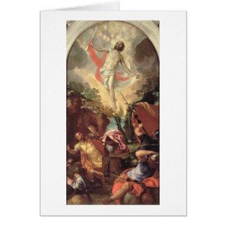 Cartes La résurrection du Christ (huile sur la toile)