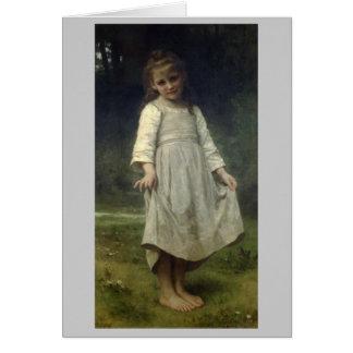 Cartes La révérence - William-Adolphe Bouguereau