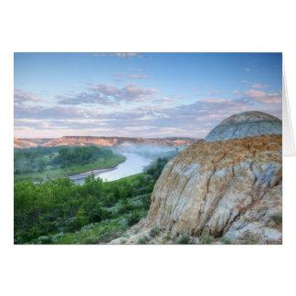 Cartes La rivière Little Missouri au peu