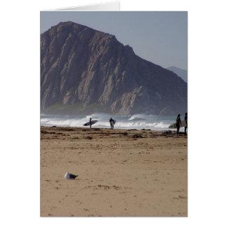 Cartes La roche de Morro échoue des surfers