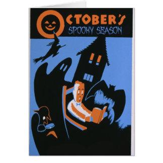 Cartes La saison éffrayante d'octobre