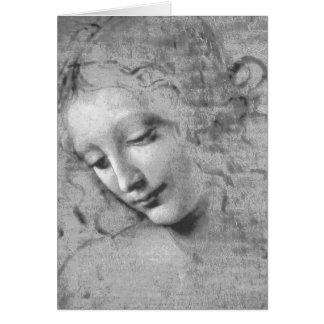 Cartes La Scapigliata par Leonardo da Vinci