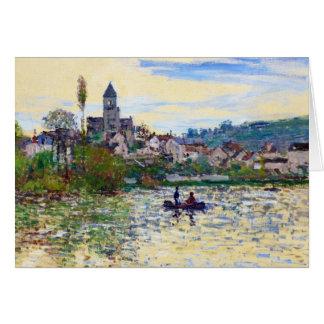 Cartes La Seine chez Vetheuil Claude Monet