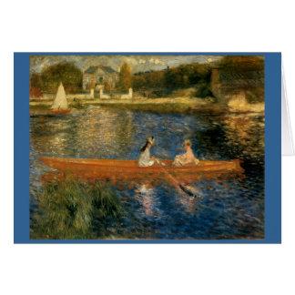 Cartes La Seine de Renoir chez Asnières (le skiff) Ca