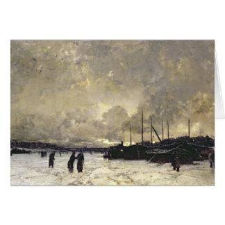 Cartes La Seine en décembre 1879
