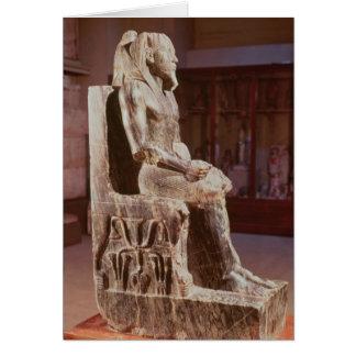 Cartes La statue de Khafre a couronné